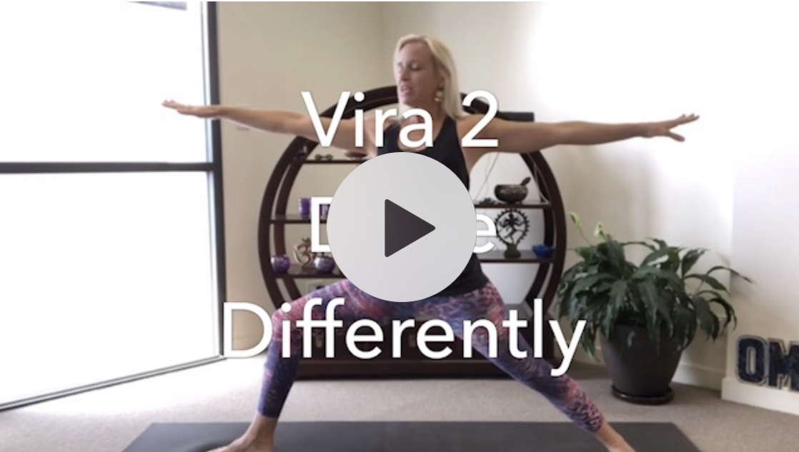 Yoga Tips – Virabhadrasana 2 done differently